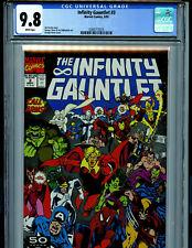 Infinity Gauntlet Issue # 3 CGC 9.8 NM/MT Avengers 1991 Comic Marvel Thanos K15