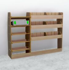 Ford Transit Connect 2014-PresentLWB Full Driver Side Plywood Racking Shelving