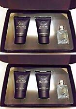 Versace Pour Homme Shampoo  After Shave Balm Eau de Toilette Mini Gift Set 2 PK