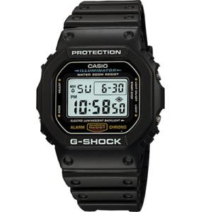 Casio G-Shock DW5600E-1V Men's Black Resin Digital Dial Quartz Wrist Watch JAA1