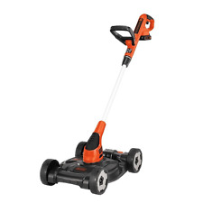 BLACK+DECKER MTC220 20V Lithium Ion 3-in-1 Trimmer/Edger and Mower, 12""