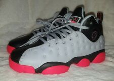 Air Jordan Jumpman Team 2 Youth Shoes Size 4y Women's Size 5.5 Wolf/Infrared BLK
