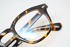 Tortoise Nerd Vintage Style Retro Eye Glasses Geek Horn Rimmed Eyewear