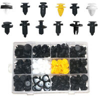 150PC Car Body Plastic Push Pin Rivet Fasteners Boxed Kit Auto Fastener Clip Set