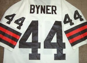 VINTAGE 80's EARNEST BYNER CLEVELAND BROWNS NFL RAWLINGS JERSEY LARGE RARE!
