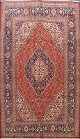 Vintage Geometric Traditional Hand-knotted Area Rug Living Room Oriental 7'x10'