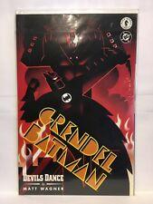 Grendel Batman #2 Libro Dos Devils Dance Dark Horse Dc Comics Matt Wagner