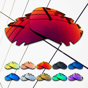 TRUE POLARIZED Replacement Lenses for-Oakley Jawbone Vented Multi-Colors