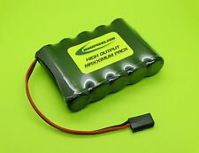 FDK SANYO 6v 4000 4/3 A FLAT RX BATTERY 4 RC FUTABA J / MADE IN USA / S4005F-J