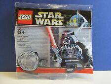 RARE lego star wars CHROME DARTH VADER minifigure polybag SEALED promo 4547551