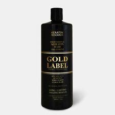 Gold Label Brazilian Blowout Keratin Extra Strength 1000 ml USA+ 100 ml Free