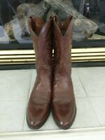 Dan Post Men's Milwaukee Western Cowboy Leather Boots DP2111R Antique Tan