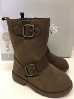 CARTER'S GIRL'S FINOLA BOOTS (TODDLER SIZE 5) BROWN      NEW IN BOX