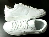 Womens Nike Tennis Classic Casual Leather Shoes White NEW IN BOX 312498 129