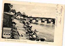 CPA  Haye-Descartes (Indre-et-Loire) - Le Pont sur la Creuse   (229612)