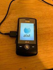 Lg Shine Cu720 - Black (At&T) Cellular Phone 3G 2Mp Camera Used with Sim Card
