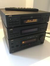 JVC MX70BK HI-FI COMPONENTS SYSTEM AMP TUNER CD - MADE IN JAPAN