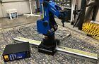 INTELITEK SCORBOT ER-4U ROBOT ARM W/ LINEAR SLIDE BASE