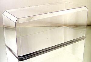 "1:18 Scale Pioneer Plastics Mirror base display case (15.5"" X 7"" X 6"")"