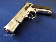 NEW KIMAR M75 Chrome - Safe Action Movie Replica Safe Prop Gun