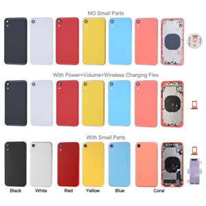 Back Glass Housing Battery Cover Frame For iPhone X XR XS Max 11 12 Pro SE 2 Lot