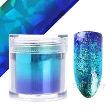 Nagelfolie Nail Art Starry Sky Nagelsticker Nail Foils Tips Purple Blue Maniküre