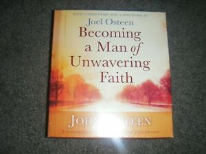 Becoming a Man of Unwavering Faith by John Osteen (CD, Unabridged) audiobook