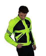 Nerve - Giacca da Moto Estiva Go Giallo Neon XL