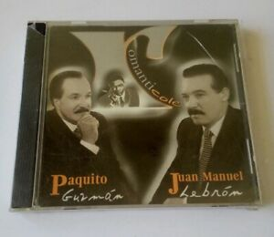 Paquito Guzman y Juan Manuel LeBron ROMANTICOLE DISCO HITS 2002 Sealed CD