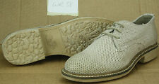 Wrangler WR38 ladies womens beige leather smart casual lace up shoes UK 4 EU 37