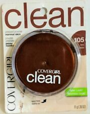 CoverGirl Clean Pressed Powder Normal Skin .39 Oz 105 IVORY New Carded