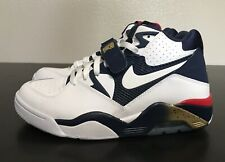 Nike Air Force 180 Olympic Team White Navy Red Gold Sz 8.5 Charles Barkley NEW!!