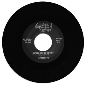 Myrchents Indefinite Inhibition / All Around You Rock/Garage/R&B Reissue Listen