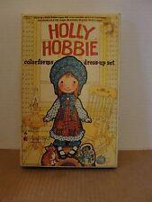 1975 HOLLY HOBBIE COLORFORMS DRESS UP SET
