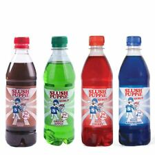 Official Slush Puppie Syrup 4 Pack Blue Raspberry, Cola, Cherry and Apple Syrup