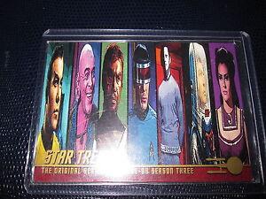STAR TREK THE ORIGINAL SERIES 1968-69 PROMO CARD MINT