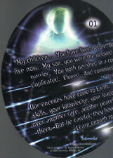 ROSWELL SEASON ONE TRADING CARDS ALIEN ORB CARD 01
