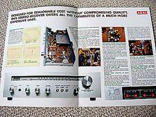 Akai AA-1010 receiver brochure catalogue