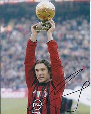 Andriy SHEVCHENKO Signed Autograph 10x8 Photo AFTAL COA AC MILAN Genuine