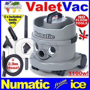 NUMATIC MOBILE CAR VALETING NVH200 DRY VACUUM CLEANER CLEANING EQUIPMENT MACHINE