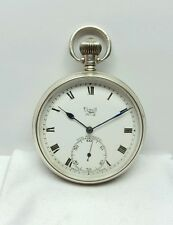 SIMIT N°2 SWISS MADE MINT CONDITION FANCY DIAL ANTIQUE POCKET WATCH SIZE 13S