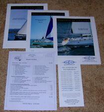 2006 BAVARIA 33 39 42 46 Cruiser Boat Yacht Dealer Brochure Catalog Lot Prices