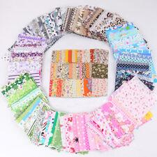 50PCS Crafts handmade Sewing Quilting Cotton Fabric DIY Bundle Patchwork  uu