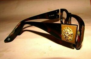 ANTIQUE Eye Glasses Vintage frame versus made in Italy, Lion's face #9