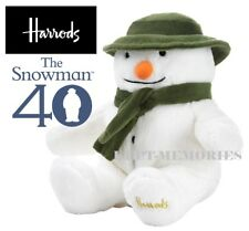 Exclusive Harrods The Snowman Plush Large 26cm Soft Toy - 40th Anniversary NEW