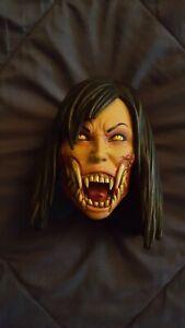 PCS Mortal Kombat Mileena Unmasked Portrait (Head Only) Slight Damage