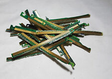 Gold Plated Pins from PC RAM for Gold Recovery - 20 grams