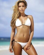 Sylvie Van Der Vaart White Swimwear 8x10 Photo Picture Celebrity Print #570