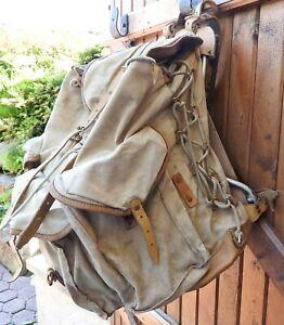 Grand Sac LAFUMA  ancien vintage Scout Randonnées
