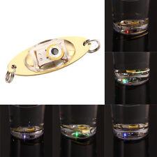 2pc LED profondément goutte sous l'eau oeil forme poissons appâts Lumière Clignotant Lampe